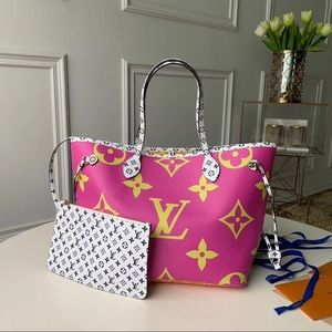 Louis Vuitton purple neverfull
